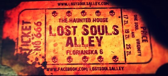 11. Lost Souls Alley