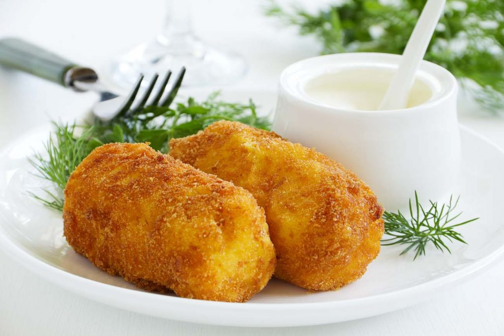 paneer croquettes