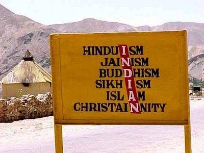 Everyone living in India is a Hindu