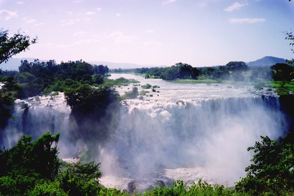 Blue-Nile-fall