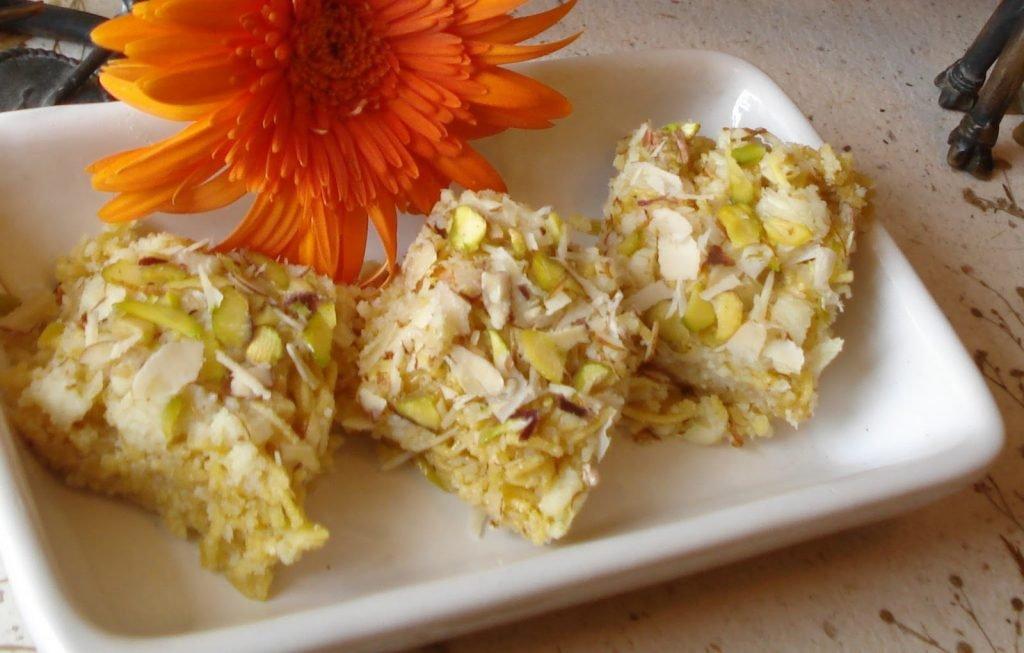 14. Singar Maaye Ji Mithai (Khoya Sweet Dish)