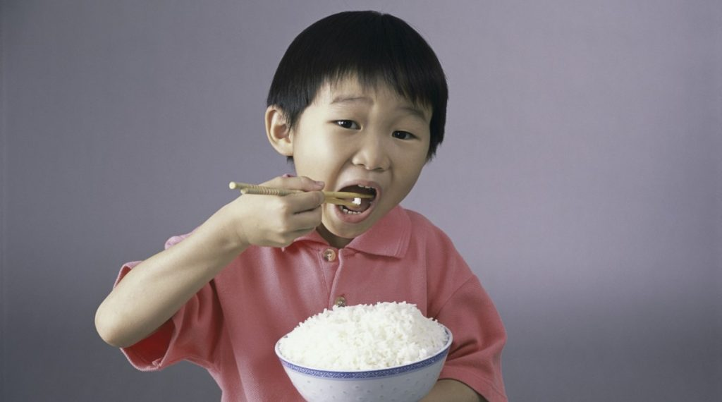 Eat Rice To Avoid A Ghost