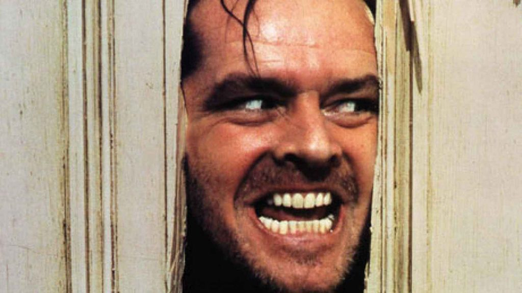 """""""Here's Johnny!"""" The Shining"""