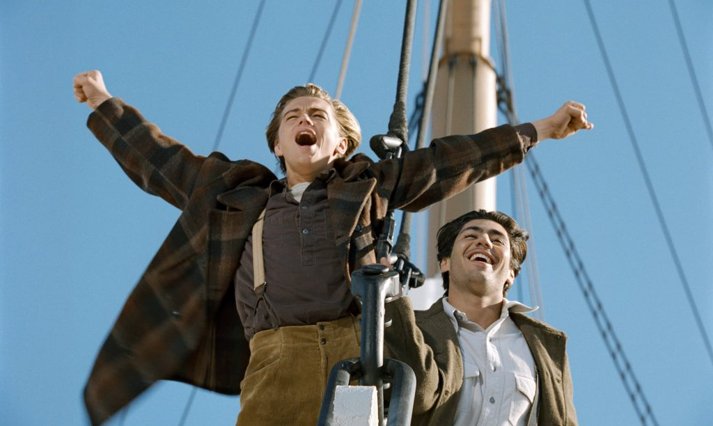 """""""I am the king of the world!"""" Titanic"""