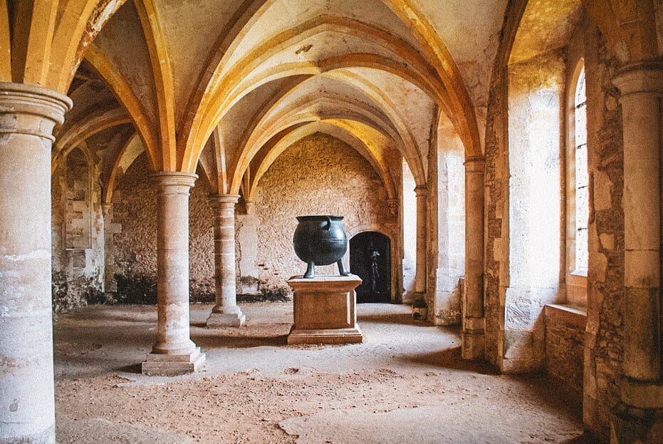 Lacock Abbey (The Potions Classroom)