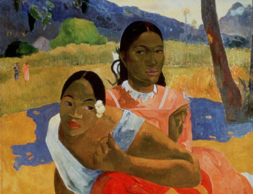 'Nafea Faa Ipoipo' By Paul Gauguin