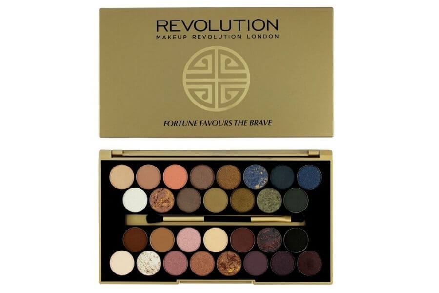 Makeup Revolution London Fortune Favours Eyeshadows