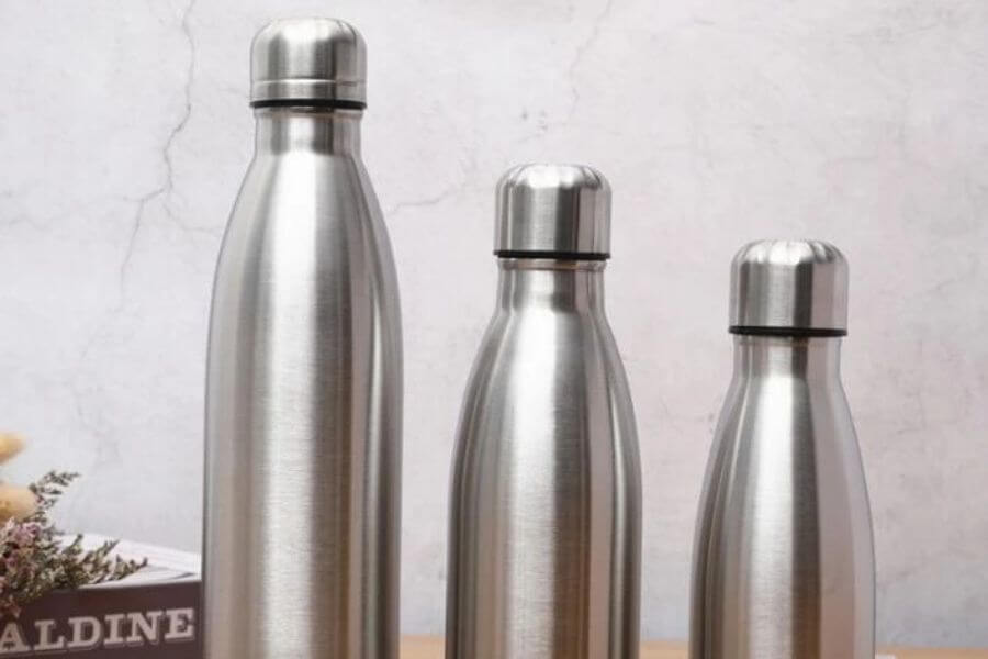 Invest in reusable drinking bottles
