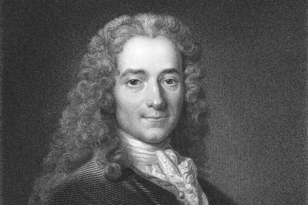 Voltaire's exile (1716)
