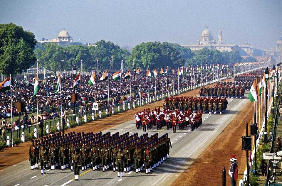 Watch The Live Republic Day Parade