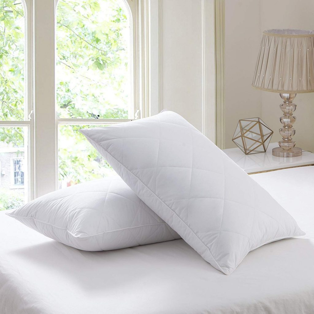 1. Feather pillows