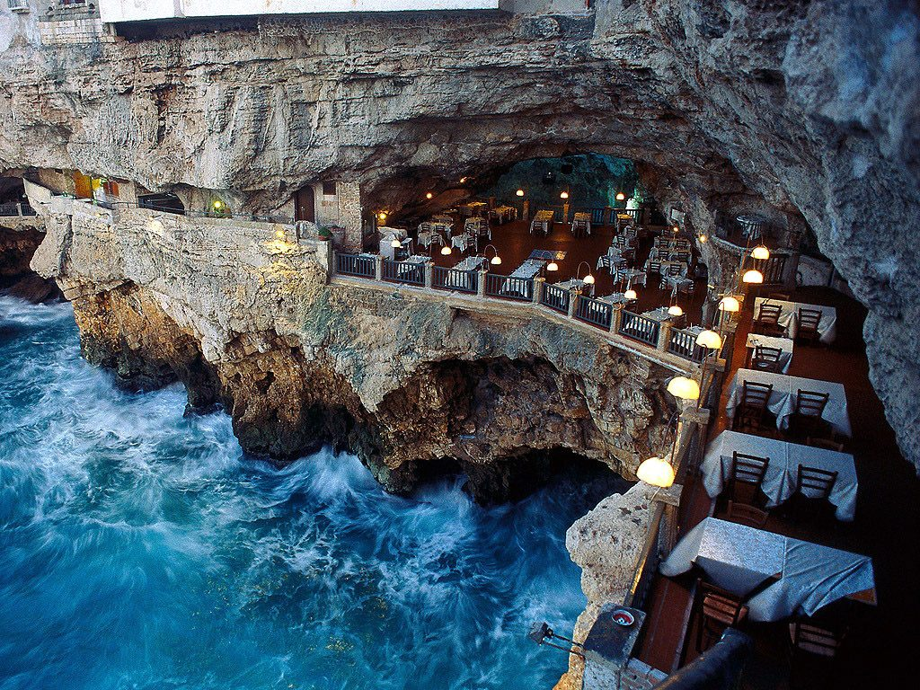 Grotta Palazzese, Italy
