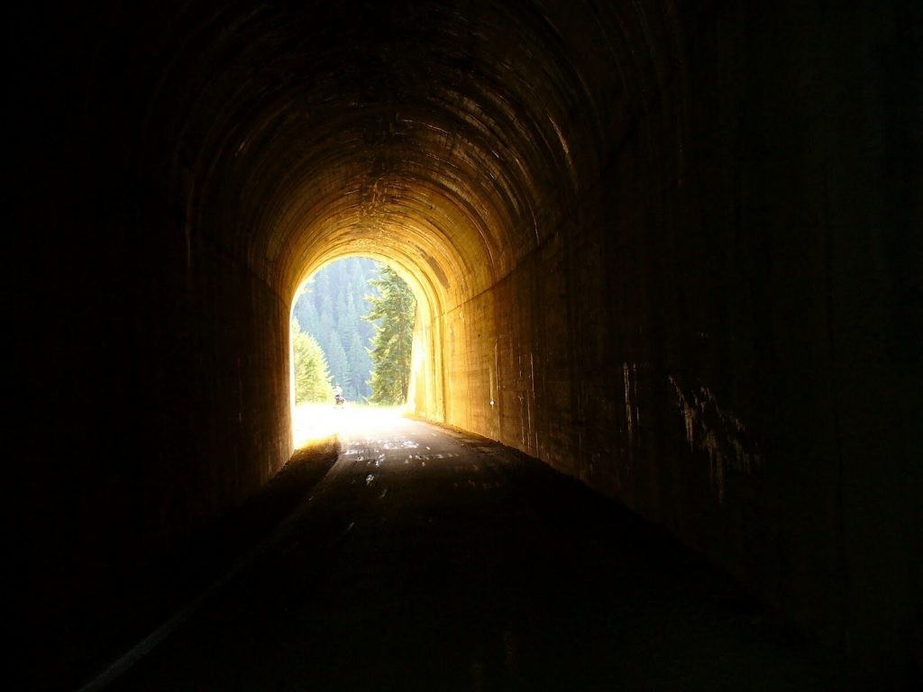 There's Always Light At The End Of The Tunnel