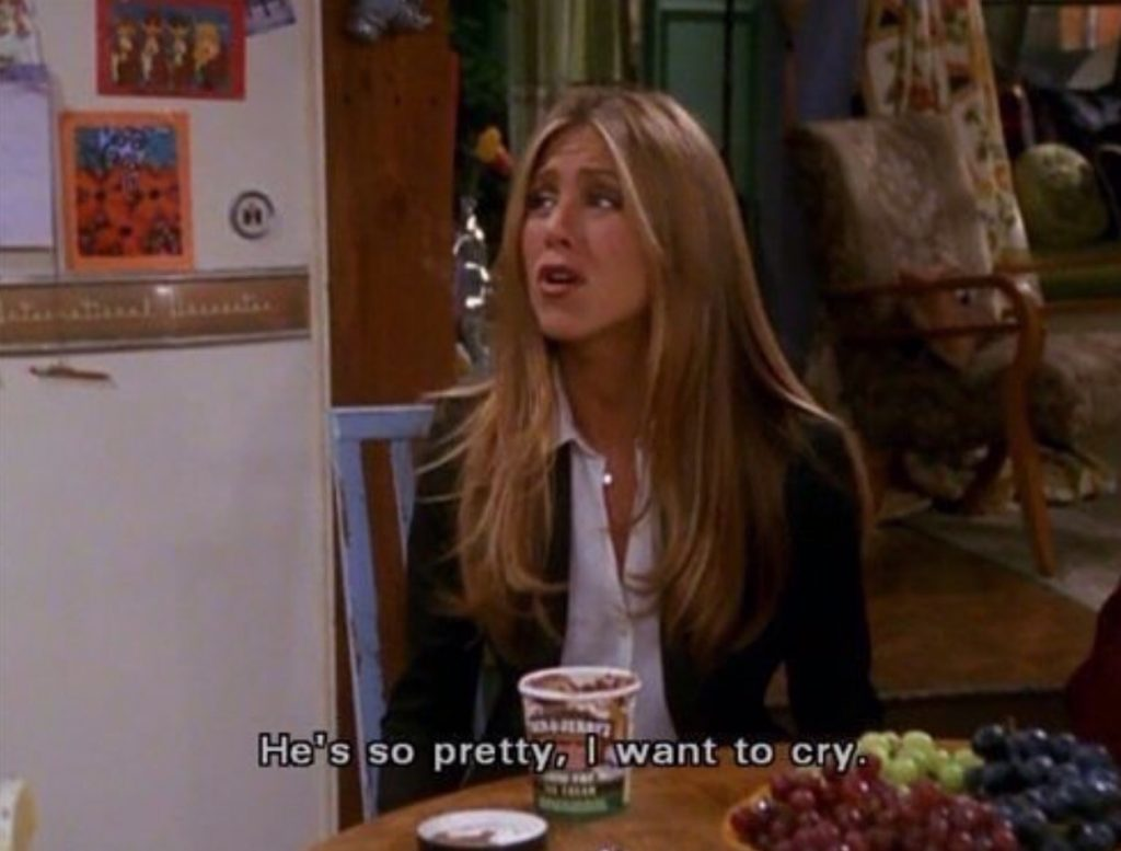 """""""He's so pretty, I want to cry."""""""