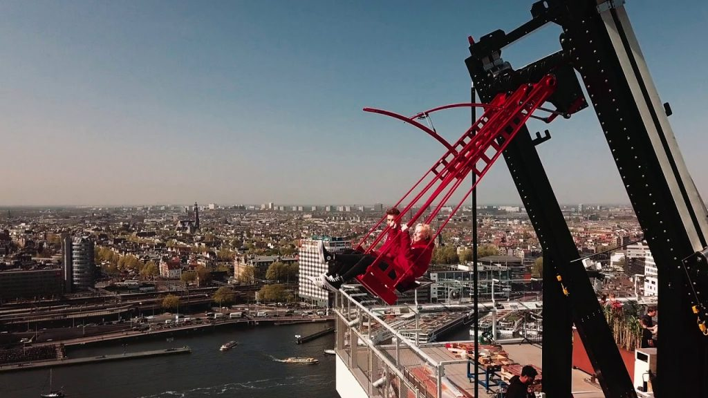 8. Over The Edge, Amsterdam: