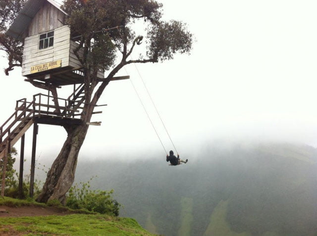1. Swing At the End of The World at Ecuador: