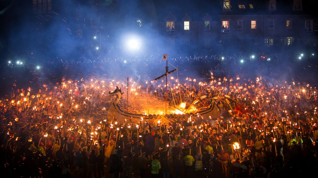 Up Helly Aa Fire Festival (Scotland)